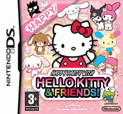 Happy Party with Hello Kitty and Friends DSi and DS Lite Cover Art