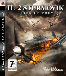 IL2 Sturmovik: Birds of Prey PlayStation 3 Cover Art