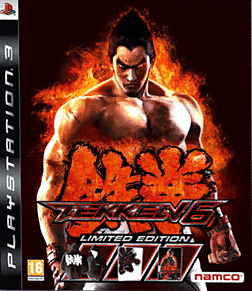 Tekken 6 Limited Edition PlayStation 3 Cover Art