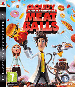 Cloudy with a Chance of Meatballs PlayStation 3 Cover Art