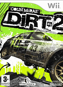 Colin McRae: DIRT 2 Wii Cover Art