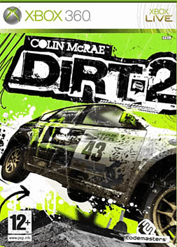 Colin McRae: DiRT 2 Xbox 360 Cover Art