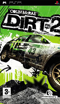 Colin McRae: DiRT 2 PSP Cover Art