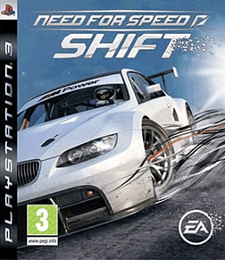 Need for Speed: Shift PlayStation 3 Cover Art