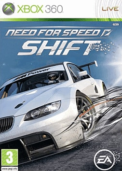 Need for Speed: Shift Xbox 360 Cover Art