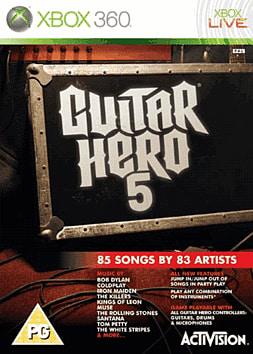Guitar Hero 5 (Guitar Pack) Xbox 360