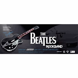 The Beatles: Rock Band George Harrison Gretsch Duo Jet Guitar Controller Accessories