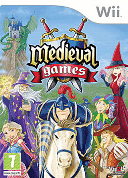 Medieval Games Wii Cover Art