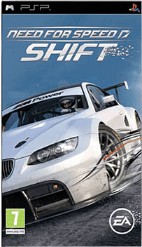 Need for Speed: Shift PSP Cover Art