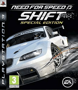 Need for Speed: Shift Special Edition PlayStation 3 Cover Art