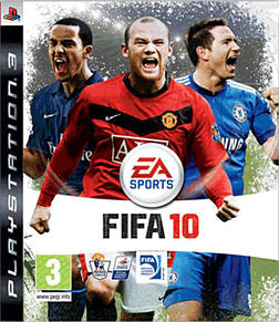FIFA 10 PlayStation 3 Cover Art