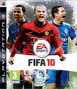 FIFA 10 PlayStation 3 Cover Art