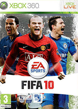 FIFA 10 Xbox 360 Cover Art