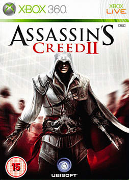 Assassin's Creed II GAME Exclusive White Edition Xbox 360 Cover Art