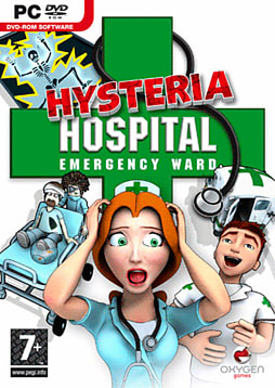 Hysteria Hospital: Emergency Ward PC Games Cover Art
