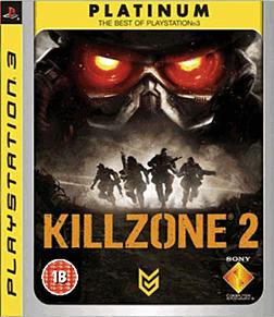 Killzone 2 Platinum PlayStation 3 Cover Art