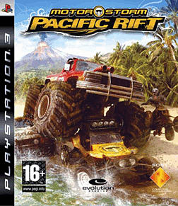 Motorstorm Pacific Rift Platinum PlayStation 3 Cover Art