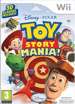 Toy Story Mania Wii Cover Art