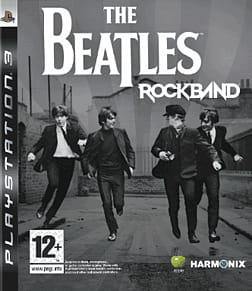 The Beatles: Rock Band (Software) with Official Sony SingStar Wired Microphones PlayStation 3 Cover Art