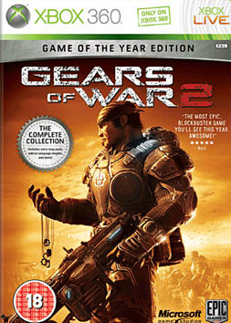 Gears of War 2 Game of The Year Edition Xbox 360 Cover Art
