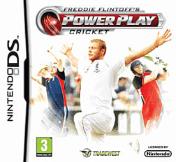 Freddie Flintoff Cricket DSi and DS Lite Cover Art