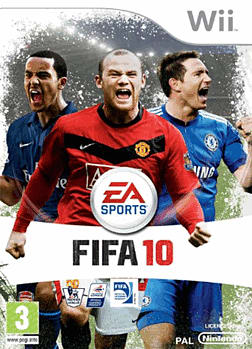 FIFA 10 Wii Cover Art