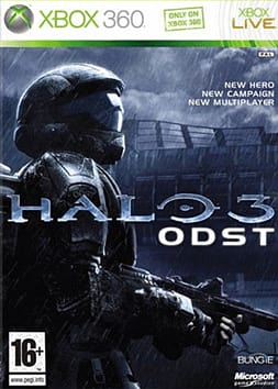 Halo 3: ODST Xbox 360 Cover Art