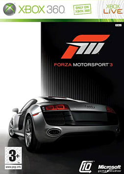 Forza Motorsport 3 Xbox 360 Cover Art