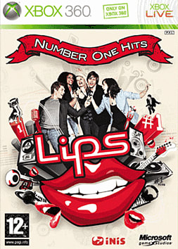 Lips: Number One Hits (Software Only) Xbox 360 Cover Art