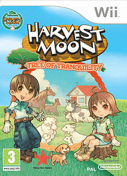 Harvest Moon: Tree of Tranquility Wii Cover Art