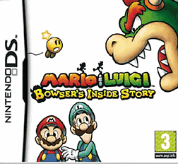 Mario and Luigi: Bowser's Inside Story DSi and DS Lite Cover Art