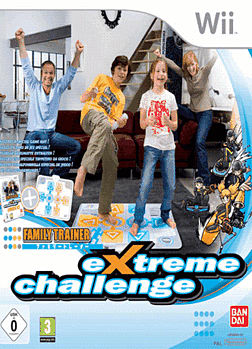 Family Trainer: Extreme Challenge (with Game Mat) Wii Cover Art