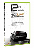 Forza Motorsport 3 Branded 12 Months + 1 Month Free Live Subscription Card Accessories