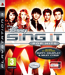 Disney Sing It: Pop Hits (Software Only) PlayStation 3 Cover Art
