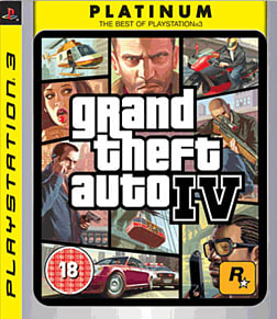 Grand Theft Auto IV PlayStation 3 Cover Art