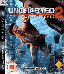 Uncharted 2: Among Thieves PlayStation 3 Cover Art
