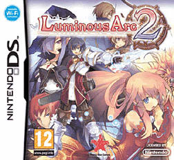 Luminous Arc 2 DSi and DS Lite Cover Art