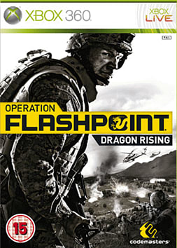 Operation Flashpoint: Dragon Rising Xbox 360 Cover Art