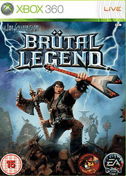 Brutal Legend Xbox 360 Cover Art