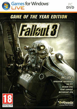 Fallout 3 Game of The Year Edition PC Games and Downloads Cover Art
