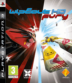 Wipeout HD PlayStation 3 Cover Art