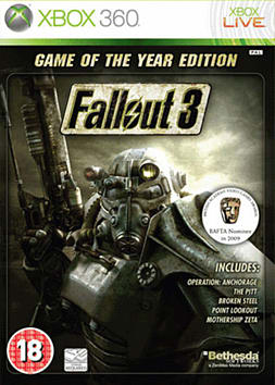 Fallout 3 Game of The Year Edition Xbox 360