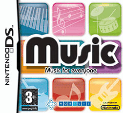 Music For Everyone DSi and DS Lite Cover Art