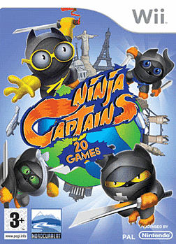 Ninja Captains Wii Cover Art