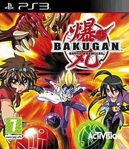 Bakugan: Battle Brawlers PlayStation 3 Cover Art