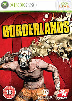 Borderlands Xbox 360 Cover Art