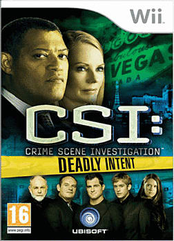 CSI: Deadly Intent Wii Cover Art