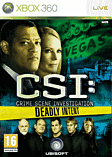 CSI Deadly Intent Xbox 360