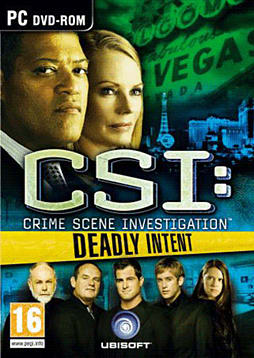 CSI 5: Deadly Intent PC Games and Downloads Cover Art