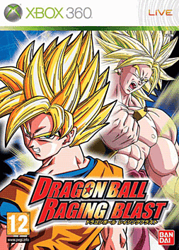 Dragon Ball: Raging Blast Xbox 360 Cover Art